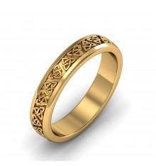 Boru Celtic Wedding Ring 6mm