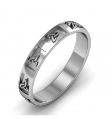 Cuchulainn Gents wedding Ring