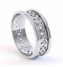 Ladies or Gents Silver Celtic Ring