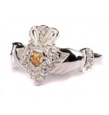 Silver Birthstone Ring November