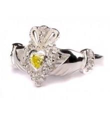 Silver Birthstone Ring August