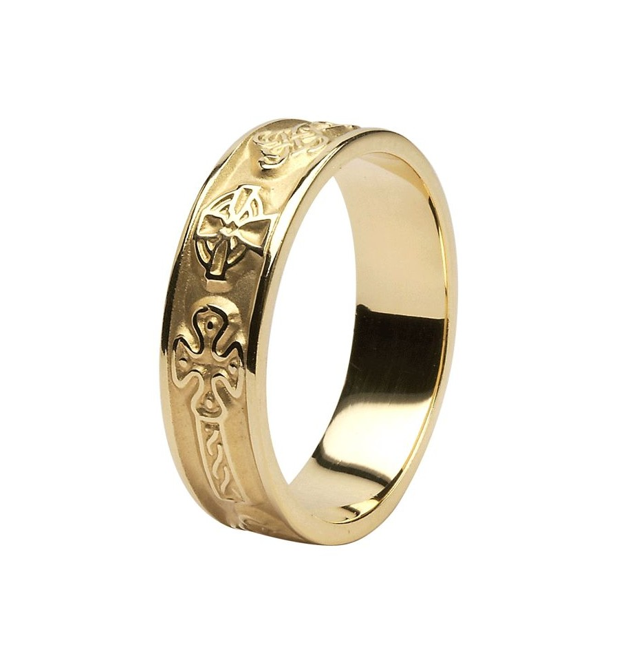 Cross With Wedding Rings 006 - Cross With Wedding Rings