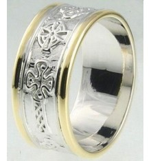 Ardri Celtic Cross Ring 10mm